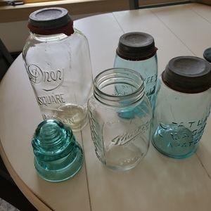 Vintage Mason Jar bundle